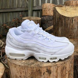 Nike Mens Air Max 95 Essential White Shoes Size 8